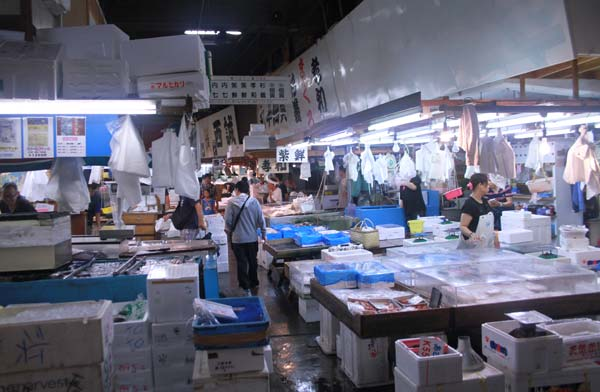 tsujiki market-allees