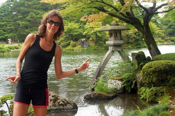 Japon, jardin zen