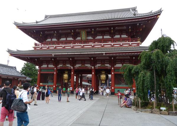 porte entrée Senso Ji Asakusa