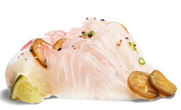 côté sushi sashimi daurade