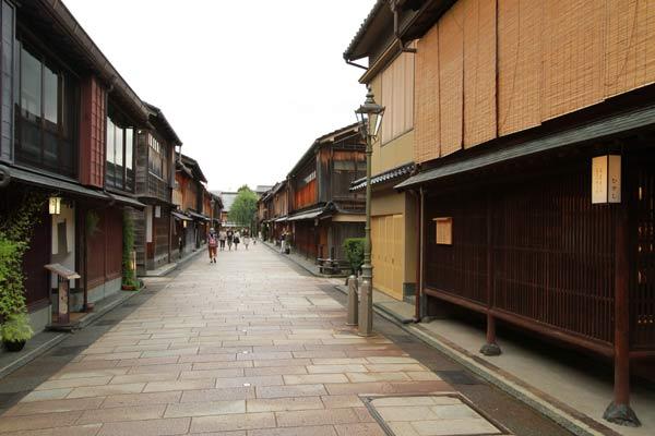 Higashi Chaya Gai, Kanazawa