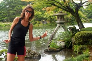 Kanazawa, lanterne jardin Kenrokuen