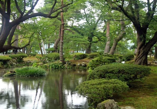 Kanazawa, jardin Kenrokuen