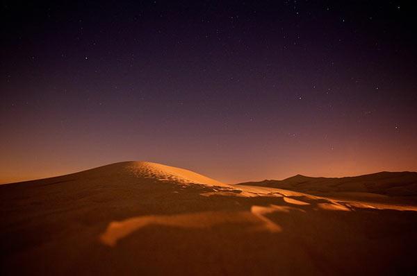 nuit desert