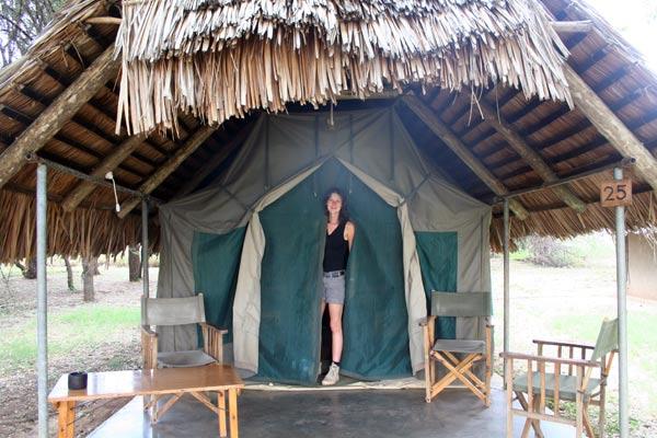 safari afrique tente