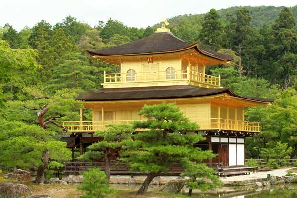 temple de Kyoto pavillon d'or