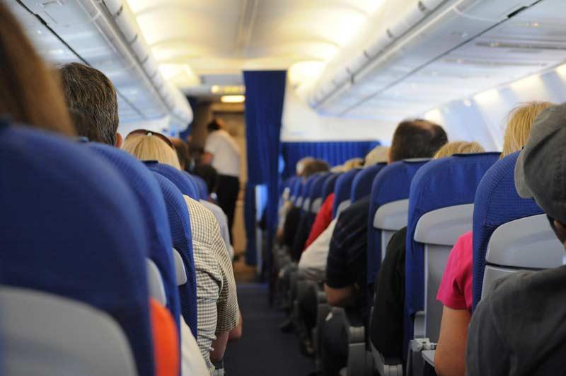vol long-courrier bouger dans avion