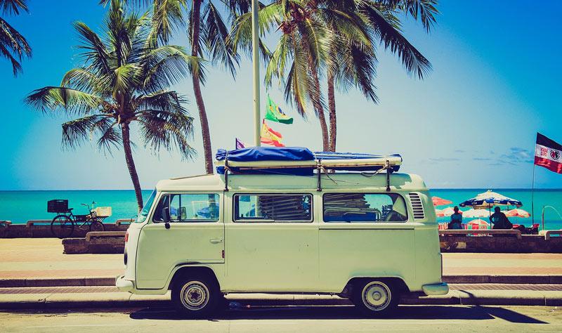 vie nomade famille voyage