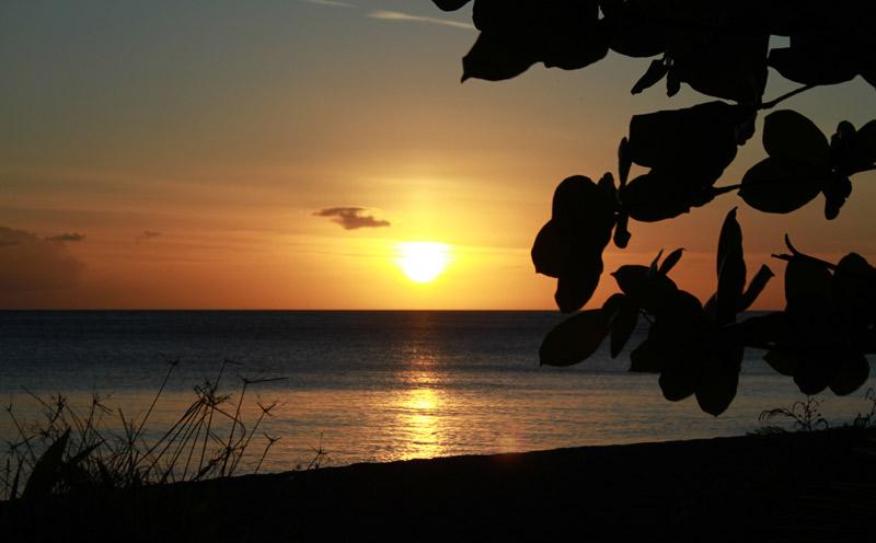 ou dormir dominique coucher soleil