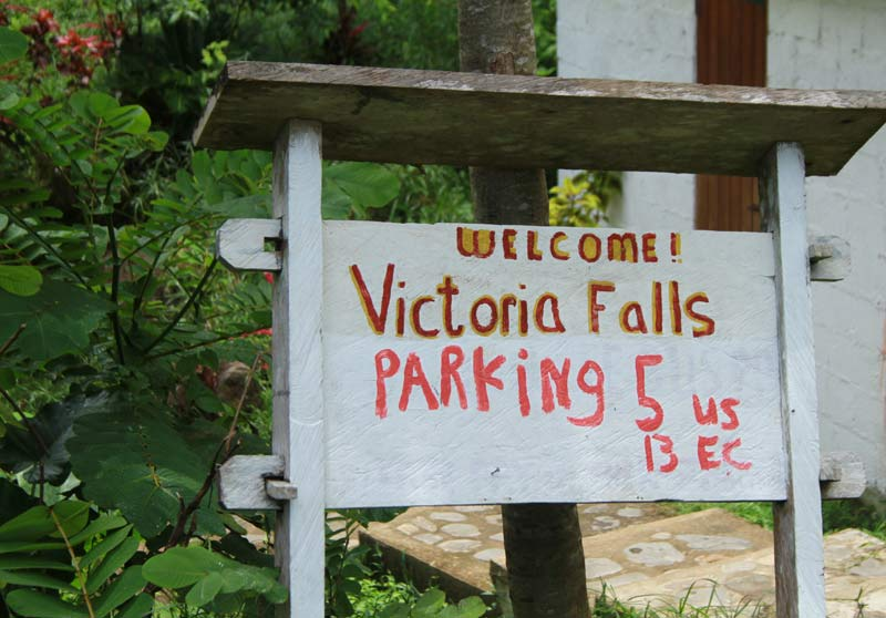 parking victoria falls dominique