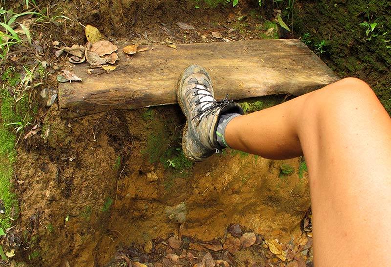 marche géante Boiling Lake Dominica