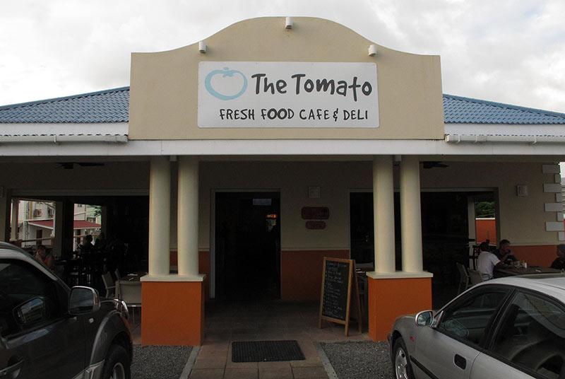 où manger à Portsmouth Tomato Café