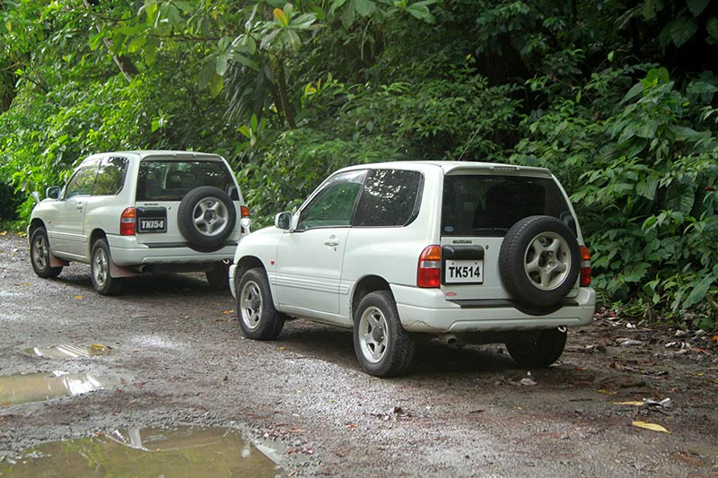 parking depart boiling lake dominica
