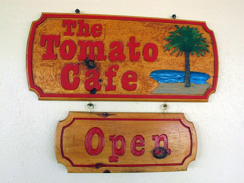 Tomato Café Portsmouth Dominica