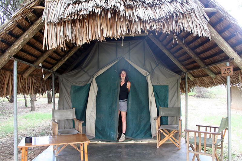 tente safari Afrique