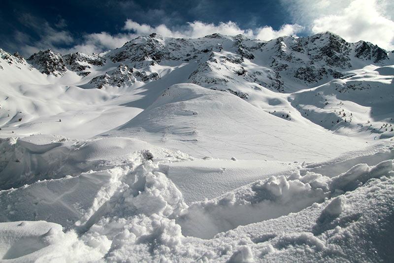 neige col lautaret