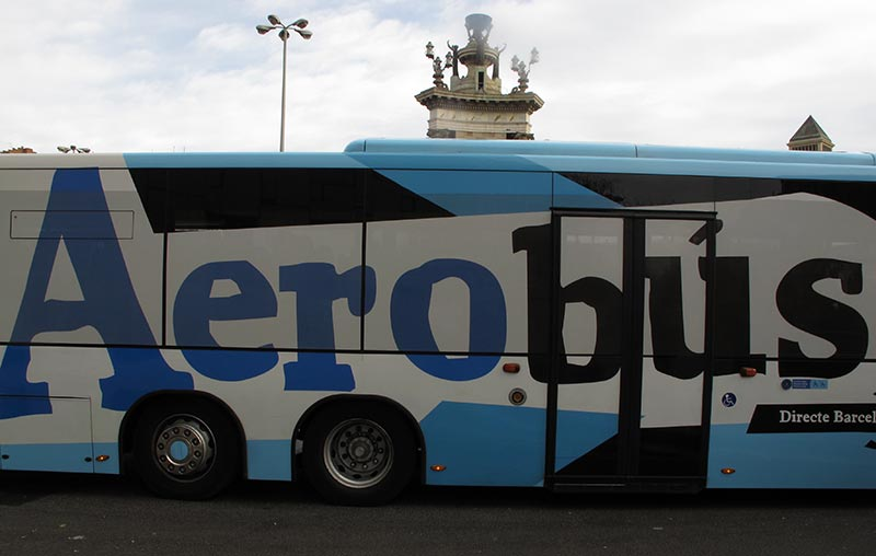 aérobus Barcelone