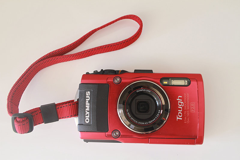 appareil photo étanche Olympus TG4