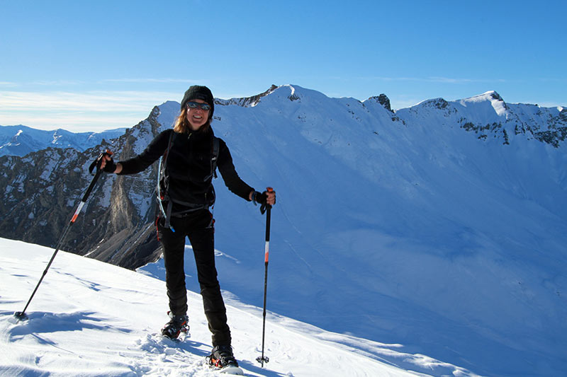 arrivée belvédère de l'Alp