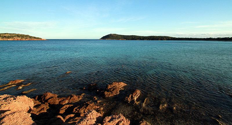 baie Rondinara Corse