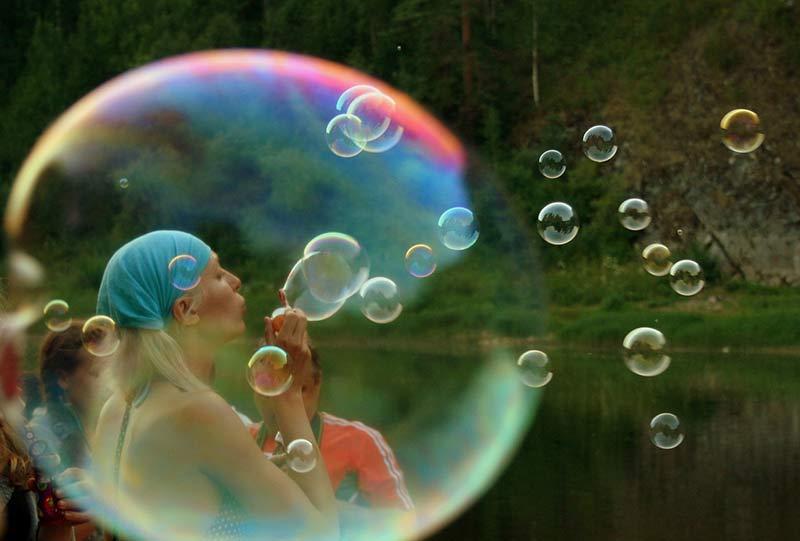 bulle pour survivre en milieu hostile