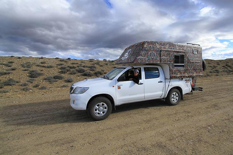 campervan argentine patagonie