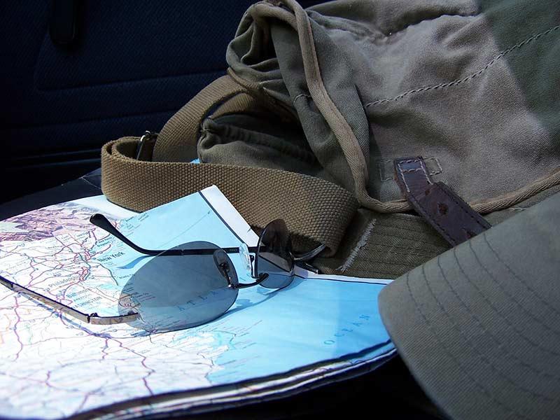 carte routière usa pour road trip