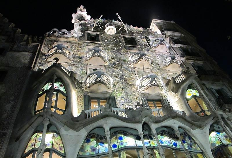 casa battlo gaudi Barcelone