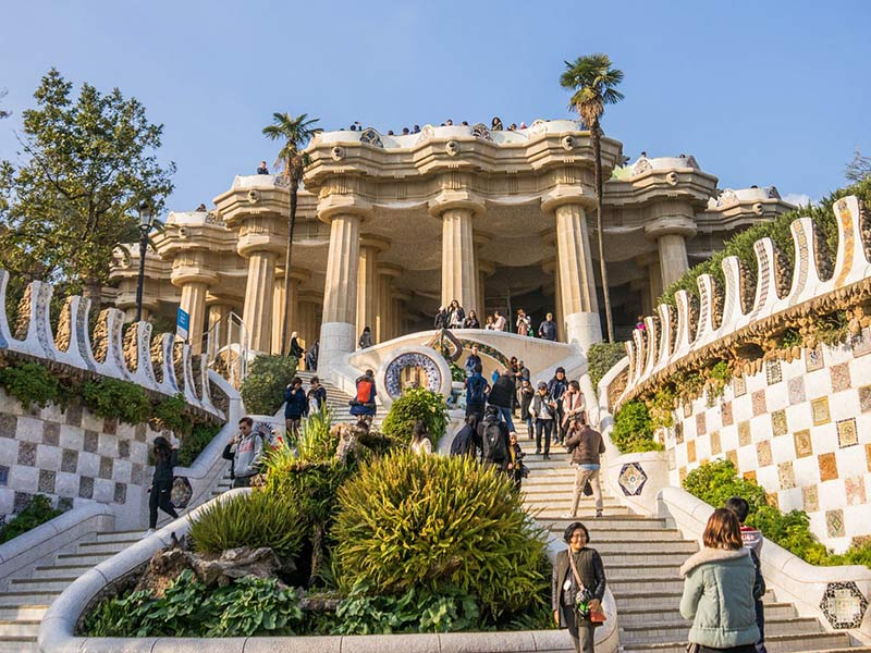 Citytrip à Barcelone : parc Güell