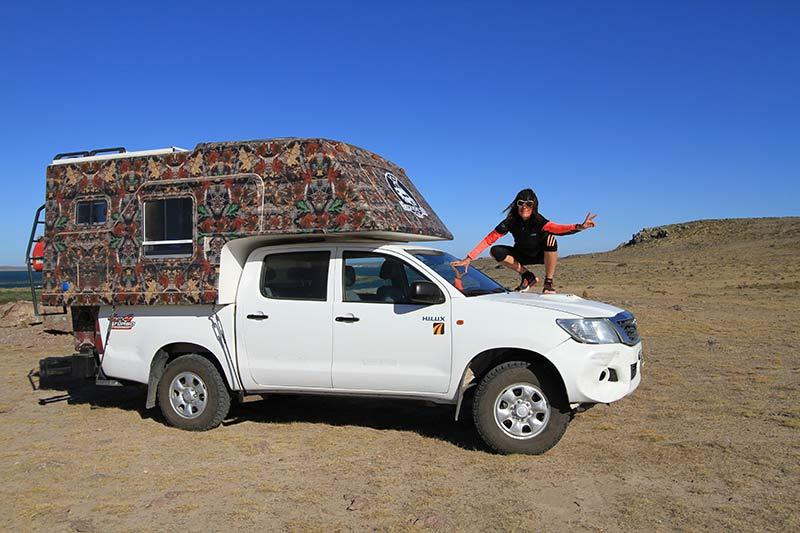 conseils voyage en van en Patagonie