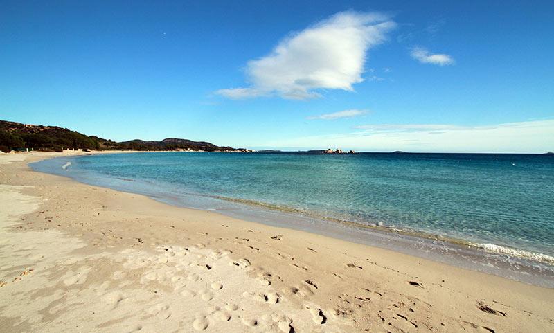 Corse en hiver plage de Tamarucciu