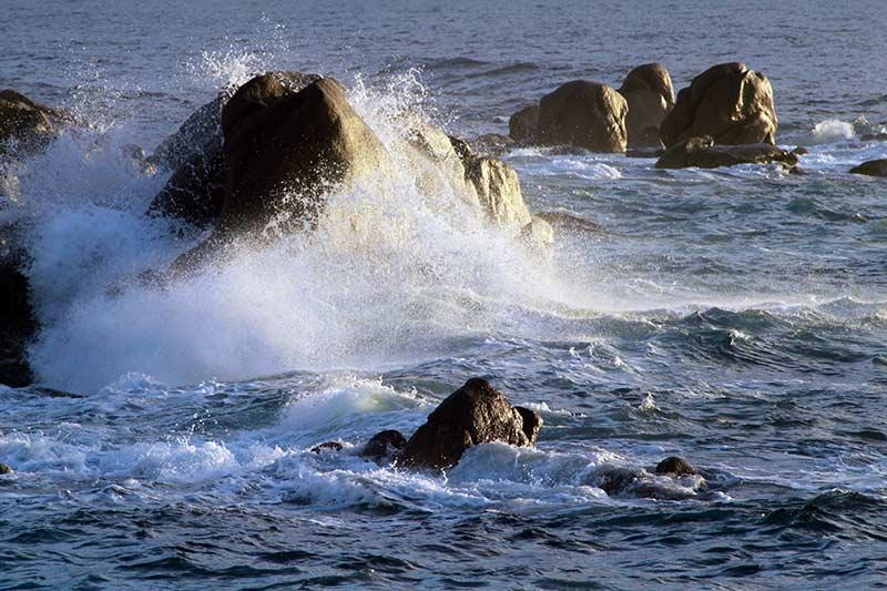 Corse mer et rochers