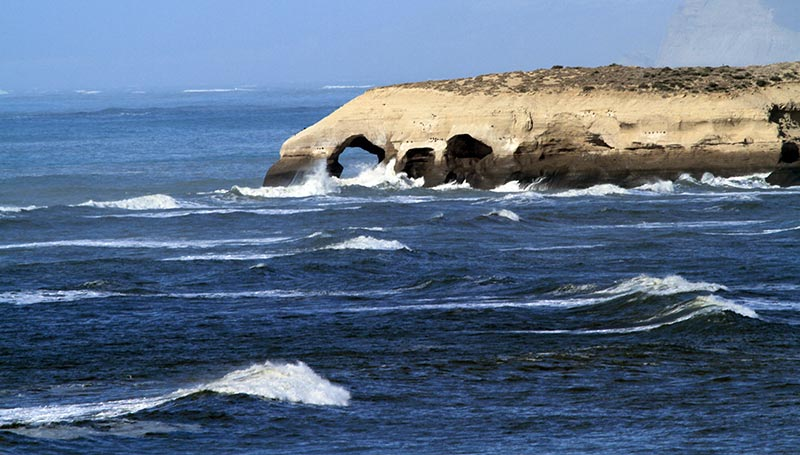 côte déchiquetée patagonie