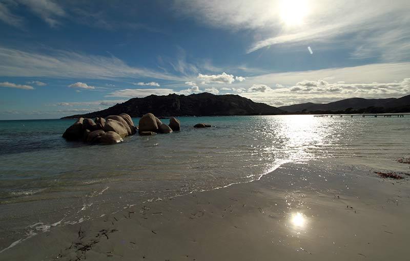 découverte plage de la Corse l'hiver