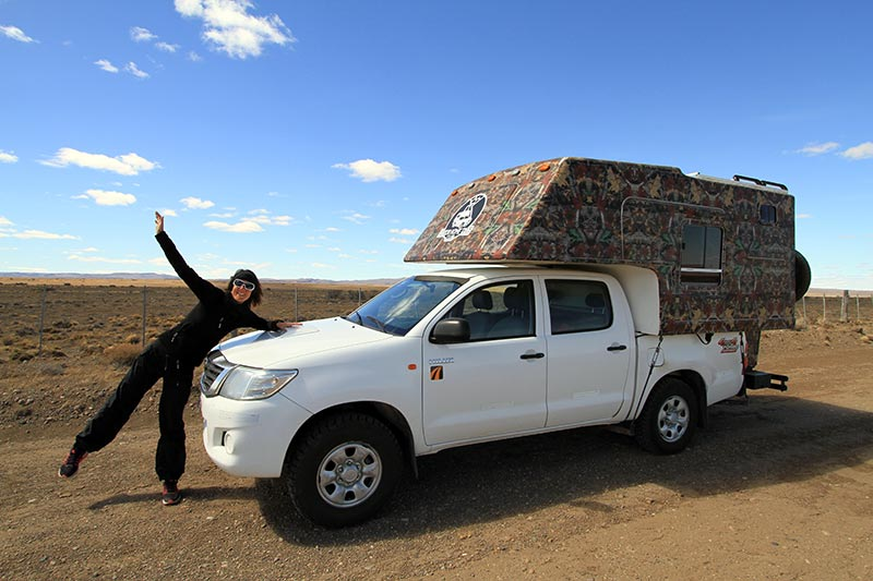 découvrir la patagonie en van aménagé