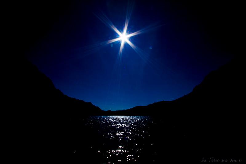 effet lumière lac vens