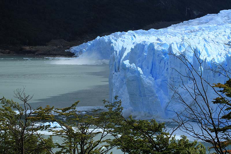 effondrement pan du Perito Moreno