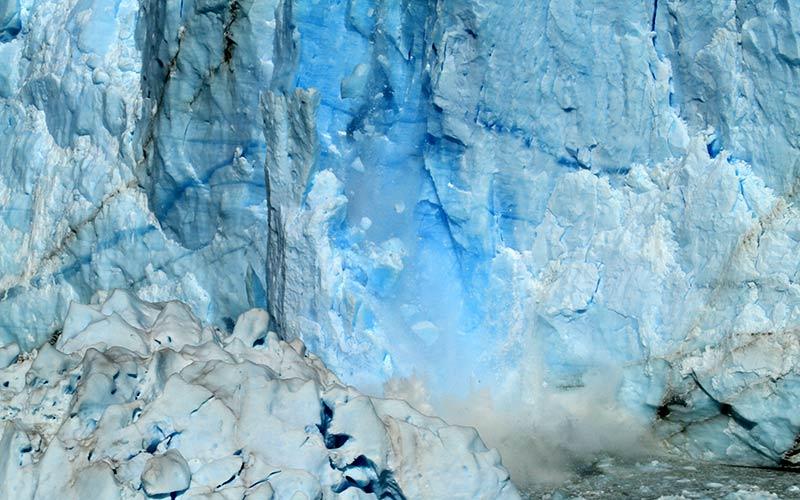 effondrement Perito Moreno