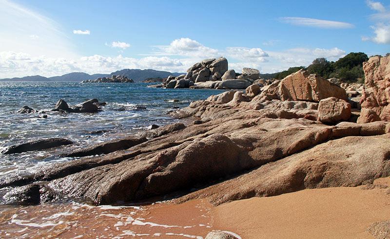 entre 2 plages en Corse