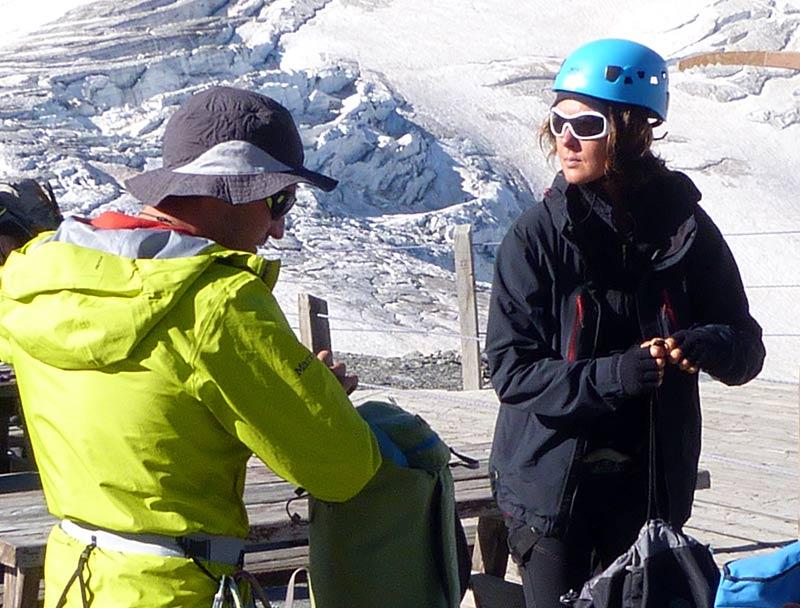 équipement rando glaciaire La Grave