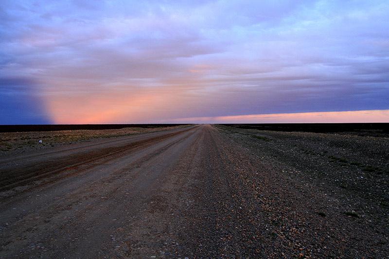état des pistes en Patagonie