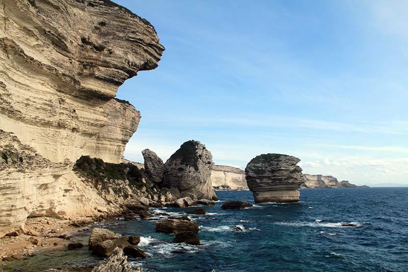 falaises de Bonifacio Corse