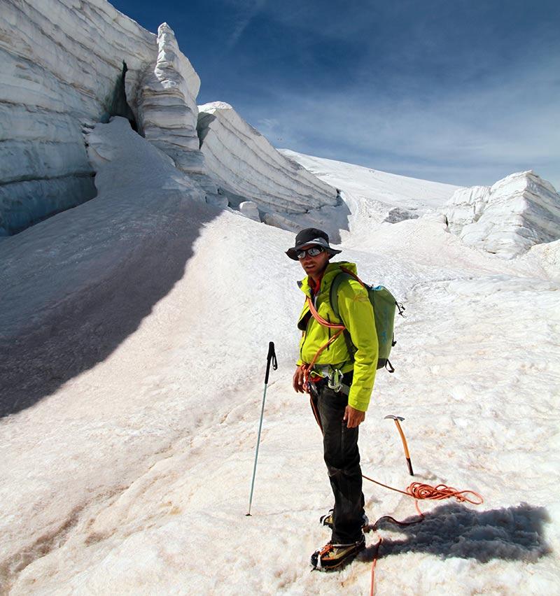 guide rando glaciaire
