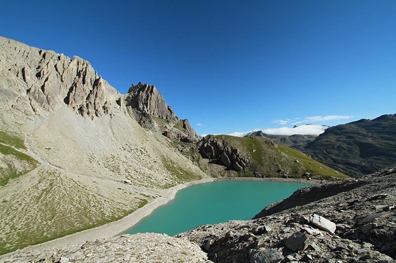 lac des Béraudes alpes du sud