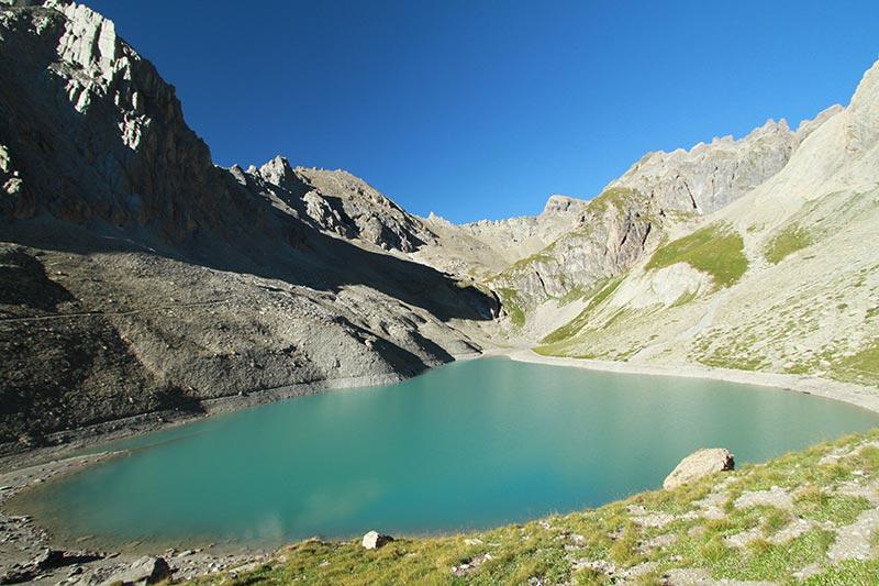 lac des Béraudes été serre-chevalier