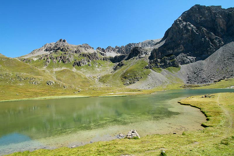 lac des Cerces vallée Clarée