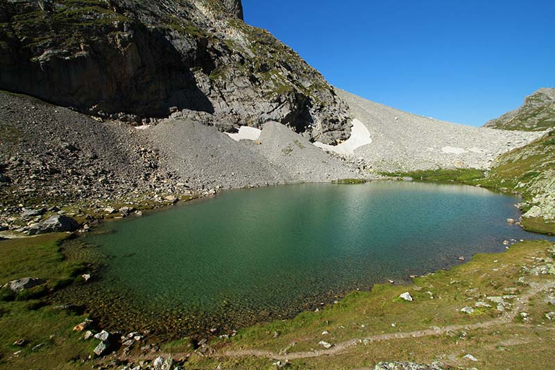 lac de la Clarée alpes du sud
