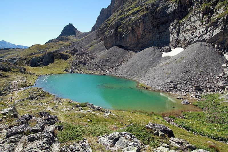lac de la Clarée vallée Clarée