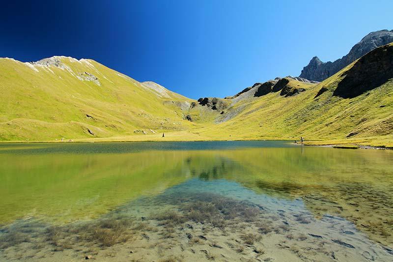 lac des Cordes alpes du sud