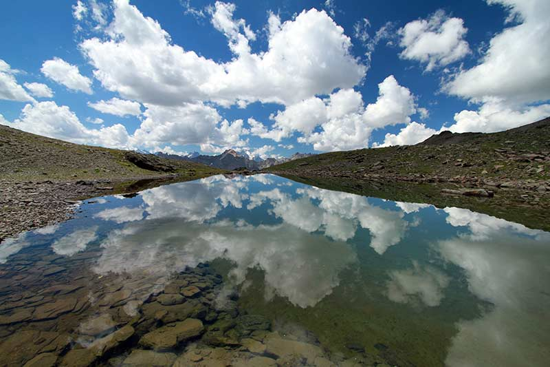 lac des Gardioles Alpes du Sud
